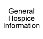 General Hospice Information